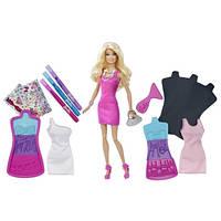 Кукла Barbie серия Fashion Design Plates Mattel (Барби Дизайнер Платья) Оригинал Мател