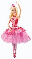 Кукла Barbie Pink Shoes Transforming Ballerina Mattel (Барби Балерина Розовые Туфельки) Оригинал Мател