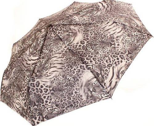 Привлекательный женский автоматический зонт, антиветер DOPPLER (ДОППЛЕР) DOP746165SA-grey