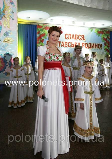 Платье в украинском стиле купить фото