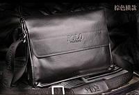 Кожаная мужская сумка портфель ПОЛО А4. Сумки для мужчин. Модные сумки. Офисные сумки. Код:КСЕ46-1