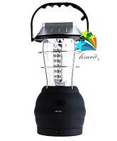 Лампа для дома или похода на 36 светодиодов, солнечной батареей и динамой для подзарядки  Dynamo-Solar Led