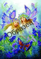 Схема для вышивки бисером «В саду с феями»