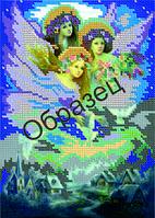 Схема для вышивки бисером «Три ангела»
