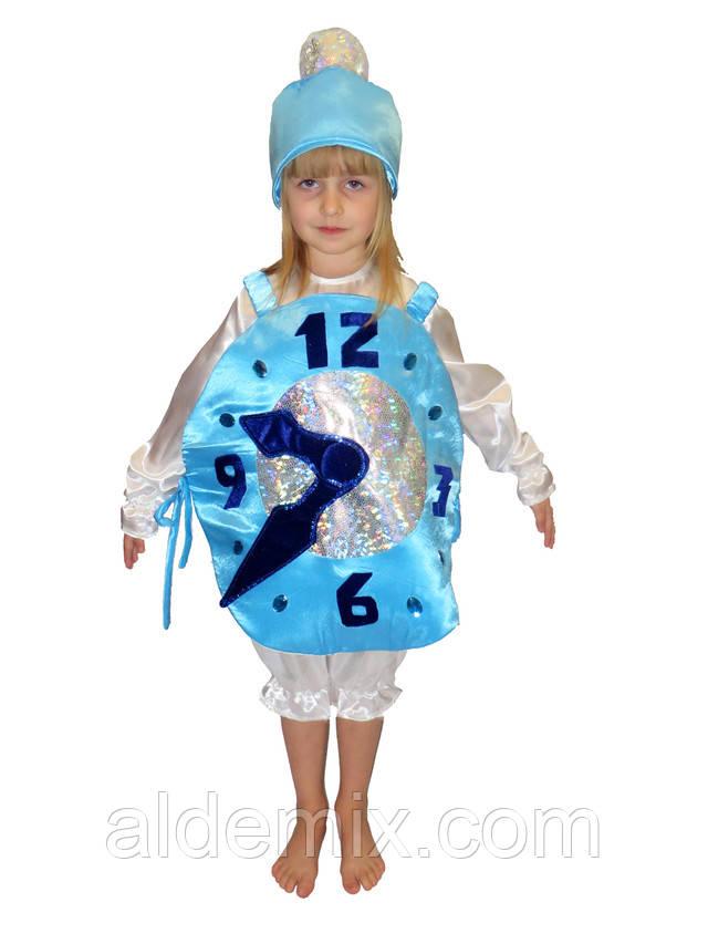 Новогодний костюм часики для девочек своими руками