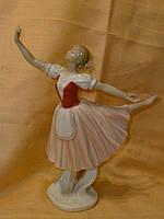 """""""Балерина"""" фарфоровая статуэтка - фигурка итальянской компании Pavone  JP-27/43, 28 сантиметров высота"""