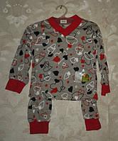 Пижама детская манжет хлопок