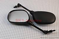 """Зеркала комплект YAMAHA- черные """"капли"""", м8 для вело и мототехники"""