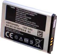 Аккумулятор (АКБ, батарея) Samsung AB553446BU, оригинальный (Li-ion 3.6V 1000mAh)