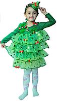 Карнавальный костюм для девочки Елка - Елочка 9111