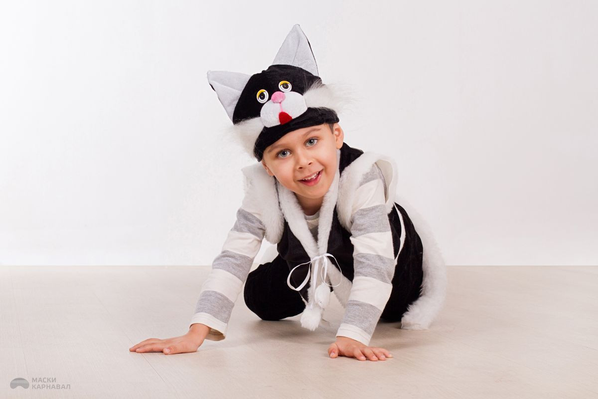 Костюмы кот для мальчиков