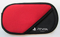 Оригинальный чехол PS Vita Casual Soft Case красно-черный