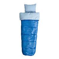 Спальный мешок Caribee Cloud 9 Kids / + 8°C Sky Blue Left