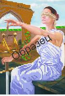 """Схема для вышивки бисером """"Богиня правосудия"""""""