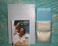 Женский мини-парфюм в кожаном чехле Dolce&Gabbana Light Blue