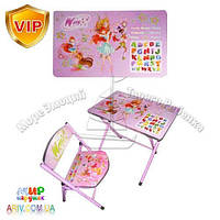 Детский складной столик DT 19-15 Винкс