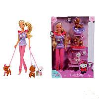 Кукла Steffi Hello Kittiy с Домашними Любимцами Simba 5732789