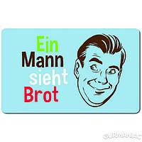 Доска для завтрака EMSA CLASSIC Ein Mann sieht Brot 23,5*14,5 см (EM513547)