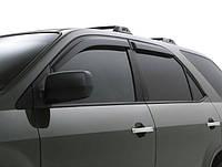 Дефлекторы окон (ветровики) Renault Logan 2013 год