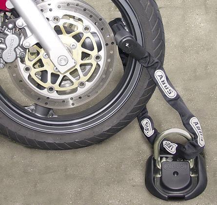 Цепь противоугонная для мотоцикла своими руками