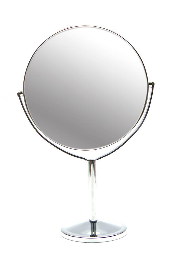 Зеркальце настольное металл