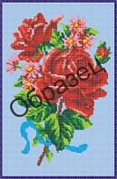 """Схема для вышивки бисером """"Розы"""""""