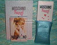Женский мини-парфюм в кожаном чехле Moschino Funny