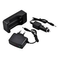 Комплект зарядок 220В и 12В для аккумуляторов 18650