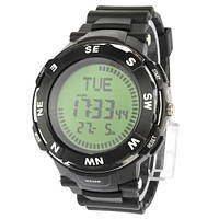 Электронные туристические часы с компасом