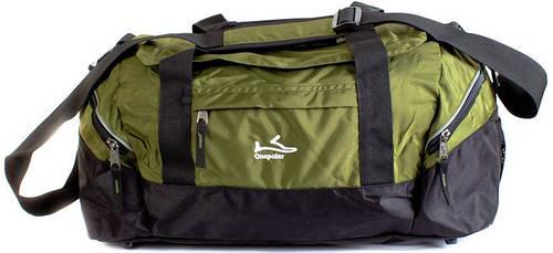 Зеленая спортивная, дорожная сумка 40 л. Onepolar (Ванполар) W2023-green