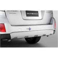Защитная накладка заднего бампера аксессуар Subaru Outback В14 Оригинал 09-14 (E775EAJ020)