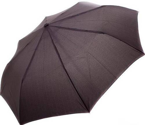 Однотонный мужской зонт, полуавтомат DOPPLER (ДОППЛЕР) DOP730167 Антиветер!