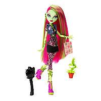 Кукла Monster High Venus McFlytrap Вasic Монстер Хай Венера МакФлайтрап базовая с питомцем