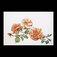 """Набор для вышивки крестом 414 """"Ветка розы""""(Just Joey) (Теа Гувернер)"""