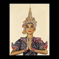 """Набор для вышивки крестом 422 """"Тайская леди"""" (маленькая) Thai Lady (small) (Теа Гувернер)"""