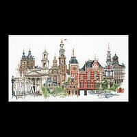 Набор для вышивки крестом 450 Амстердам (Amsterdam) (Теа Гувернер)
