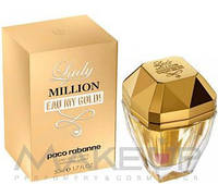 Женская туалетная вода Paco Rabanne Lady Million Eau My Gold W edt 50