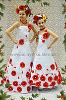 """Нарядное платье - комплект """"Украина"""""""