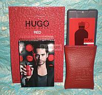 Мужской мини-парфюм в кожаном чехле Hugo Boss Hugo Red