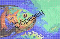 Схема для вышивки бисером  «Рыба»