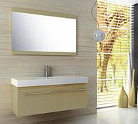 Меблі для ванної кімнати + умивалка 120см + дзеркало