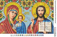 """Набор для вышивки бисером """"Ісус Христос і Богородиця Казанська"""""""