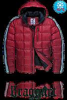 Куртка зимняя бордовая мужская 52размер в Киеве