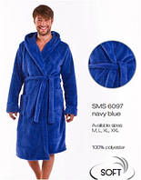 Халат мужской банный домашний теплый зимний Dobra Nocka 6097