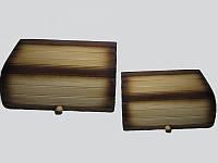 Две хлебницы деревянные (Хлебницы из дерева)