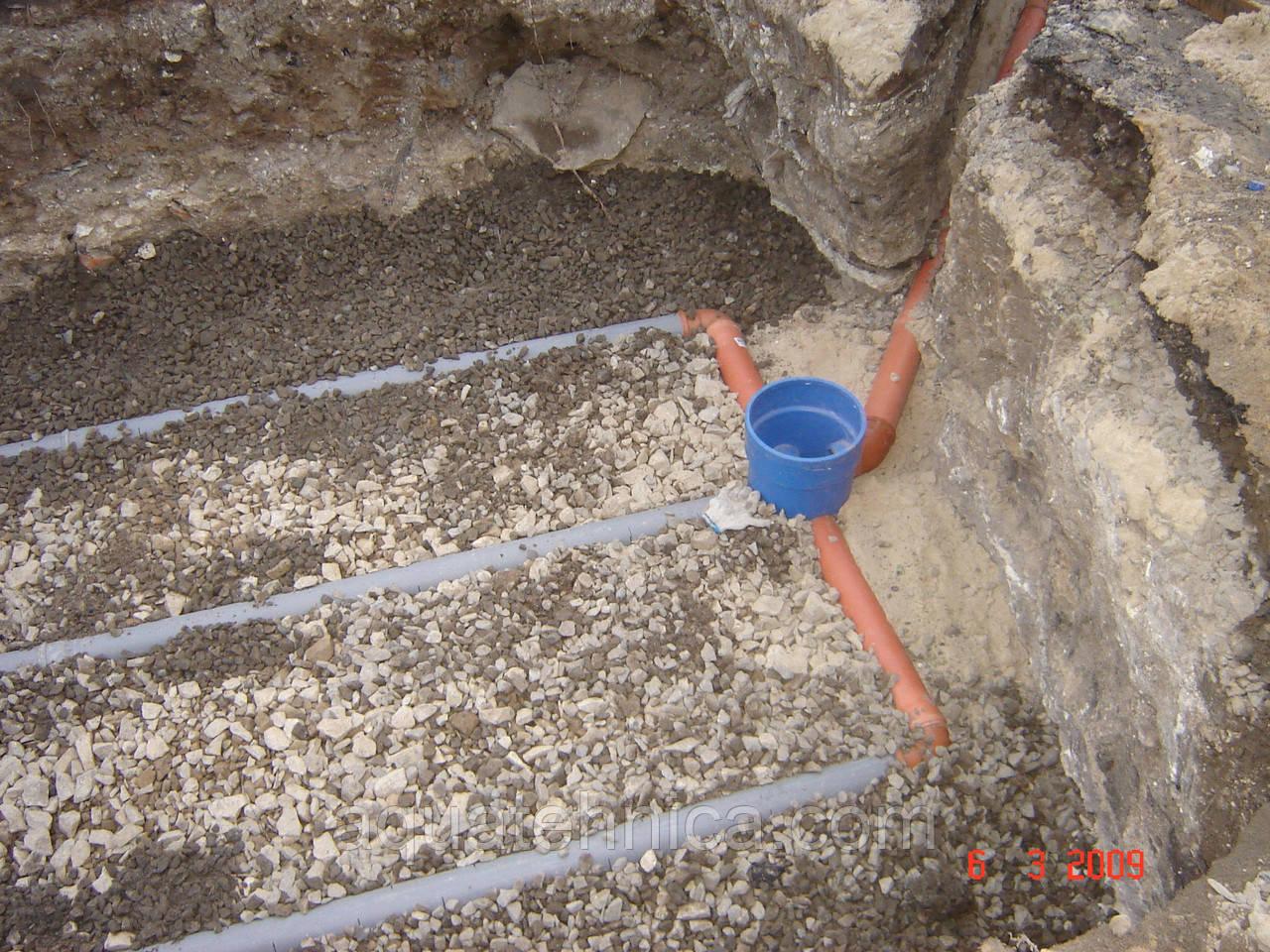 Дренажные трубы для канализации