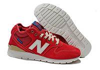 Стильные мужские/женские кроссовки NEW BALANCE 996 (MRH996AB) (NB_MRH_05)