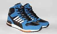 Мужские зимние ботинки кроссовки реплика adidas