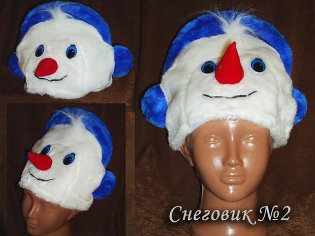 Шапка для снеговика своими руками