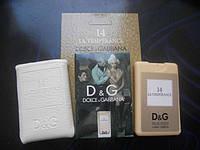 Мини-парфюм унисекс в кожаном чехле Dolce&Gabbana  14  La Temperance 20ml